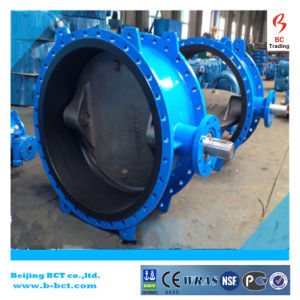 AISI Standard Natural Rubber/X1/Cr Line/Liner/Lined/Lining Three-Eccentric/Tripple off Set/Tripple Eccentric Butterfly Valve Bct-E-Rbfv07 pictures & photos