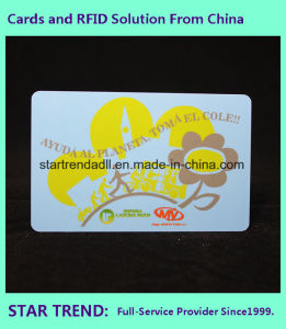 Club Card with Inkjet Print PVC and Signature pictures & photos
