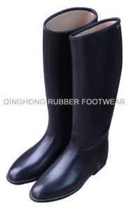 PVC Riding Boots