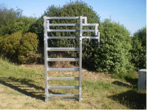 Heavy Duty Farm Steel Pipe Fence for Horse/Cattle with Hot Dipped Galvanized  (SF-001) pictures & photos