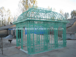 Wrought Iron Gazebo, Iron Casting Gazebo, Gazebo (GS-WRG-001) pictures & photos