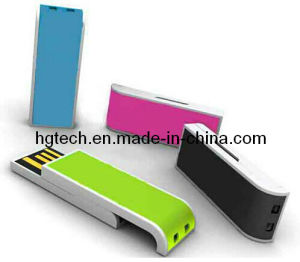 Colorful Plastic Sliding USB Flash Stick