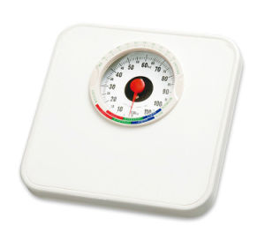 Metal Housing Plastic Mat Mechanical Bathroom Scale (XF2000B) pictures & photos
