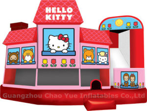 Commercial Grade Hello Kitty Bouncer Jumping Castle for Girls pictures & photos