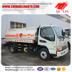 China Origin LHD Oil Storage Refilling Tank Truck for Sale pictures & photos