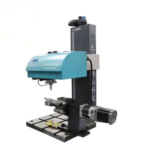 Electronic DOT Peen Marking Machine for Rotate Marking pictures & photos