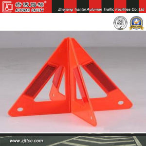 Reflective Emergency Traffic Safety Warning Triangle (CC-WT09) pictures & photos