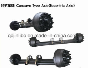 Concave Type Axle Trailer Parts Use Axle pictures & photos
