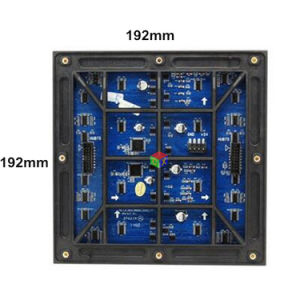 P6 Outdoor Waterproof IP65 SMD Full Color LED Module 1/8 Scan 192 * 192 mm for LED Display Screen pictures & photos