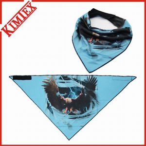 Hotsales Fashion Triangle Bandana with Fleece on Back pictures & photos