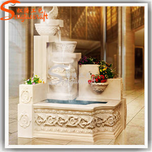 Outdoor Landscape Decoration Artificial Angel Stone Garden Water Fountain pictures & photos