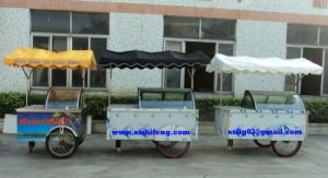 Xsflg Moving Ice Cream Trolley/Gelato Cart (CE approve) pictures & photos