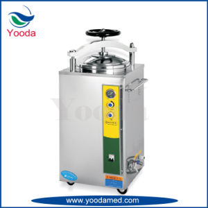 Full Stainless Steel Vertical Medical Pressure Steam Sterilizer Autoclave pictures & photos