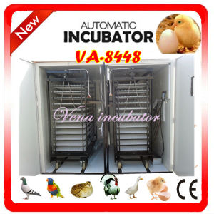 CE Approved Fully Automatic Commercial Incubator for 8448 Eggs pictures & photos