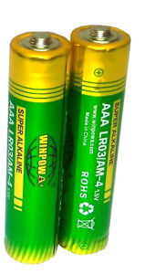 High Quality 1.5V AA Lr6 Alkaline Battery for Remote Control
