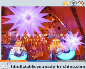 2015 Hot Selling Inflatable Star 029 for Celebration, Daily Decoration with LED Light