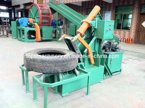 Tyres Section Cutting Machine / Waste Tyre Cutter (QD-300/500) pictures & photos