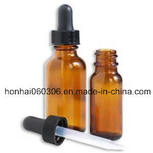 30ml Essential Oil Glass Bottle with Childproof Cap pictures & photos