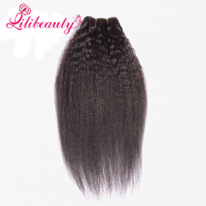 7A Mongolian Kinky Straight Hair pictures & photos