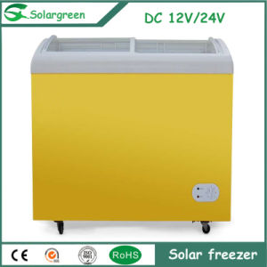 DC12V 45W Power Saving Electricity Solar Chest Freezer pictures & photos