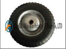 10 Inch Airless Rubber Wheel for Hand Trolley Made in China pictures & photos