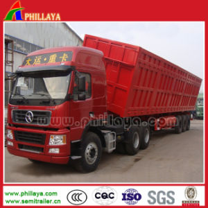 Tri-Axles Side Tipper Truck Trailer pictures & photos