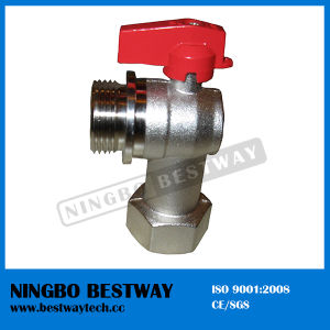 Angle Type Brass Ball Valve (BW-B65) pictures & photos