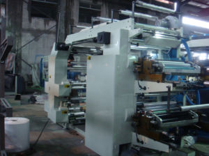 PP/PE/Paper Flexo Printing Machine
