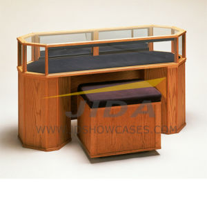 Wooden Skin Sit Down Jewelry Showcase Display