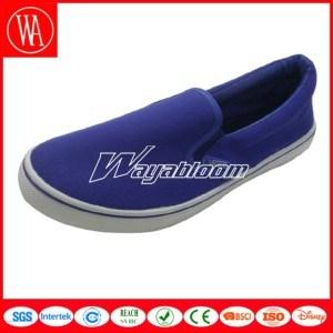 Comfort Men Canvas Shoes Leisure Flat Shoes pictures & photos