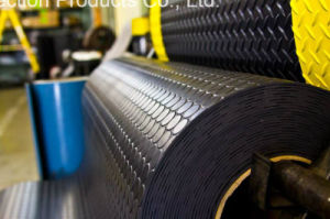Black Round Stud Industrial Rubber Sheet with Best Price