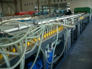 Good Quality WPC Plastic Building Plate Extrusion Machinery (production line, making machinery) pictures & photos