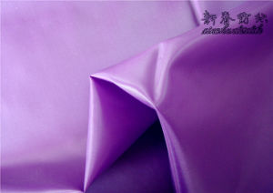 Polyester Taffeta with Heavy Cire for Garment Lining pictures & photos