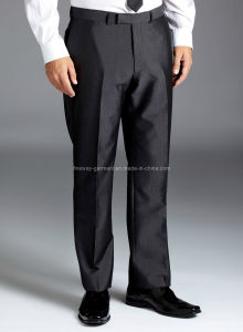 Lambretta Slim Fit Grey Trousers