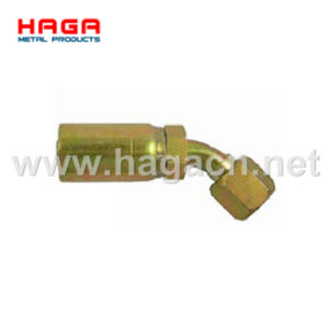 Jic 37 Female Swivel 90 Hydraulic Hose Fitting pictures & photos