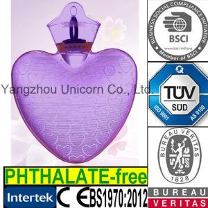 Transparent PVC SGS Hot Water Bottle