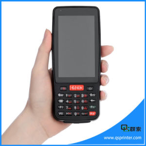 Large Screen Wireless 4G Android Mobile Computer Industrial PDA with NFC Reader