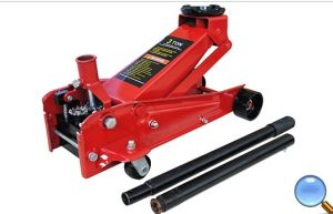 SGS Approved 3t PVC Box & Color Box Hydraulic Floor Jack pictures & photos