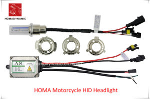 Motorcycle All in One HID Xenon Headlight A8 Short Wire pictures & photos