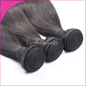 Natural Color Straight Peruvian Virgin Hair Weaving pictures & photos