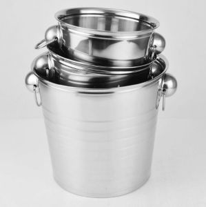 High Quality Stainless Steel Ice Bucket X-037)