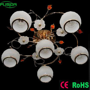 Zhongshan Glass Class Chandelier Ceiling Light for Home Decoration pictures & photos