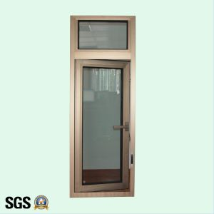 High Quality Anodized Aluminum Profile Casement Window with Multi Point Lock K03005 pictures & photos