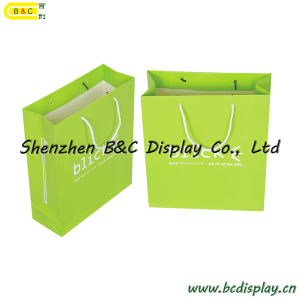 Paper Gift Bag, Paper Hand Bag, Gift Designer Paper Handbags with Long Rope (B&C-I027) pictures & photos