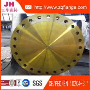 Forged Yellow Paint Pn16 BS Standered Sorf Flange pictures & photos