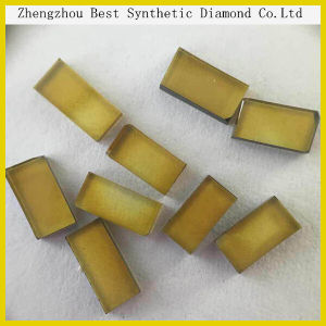 2015 Hot Sale Synthetic Yellow Flake Shape Diamond