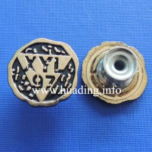 Customized Metal Shank Button for Clothing pictures & photos
