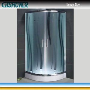 Tempered Shower Glass (Acid No 3) pictures & photos