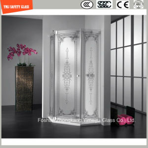 4-19mm Frosting Safety Shower Glass pictures & photos