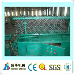 Low Price Automatic Chain Link Fence Machine (single wire) pictures & photos